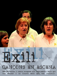 Cor País Meu 'Exili. Cançons en escena'