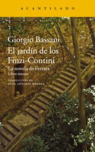 El jardín de los Fizzi-Contini.