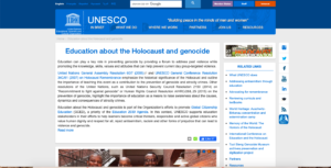 UNESCO – United Nations, Educational, Scientific and Cultural Organization