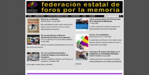 FEDERACIÓN ESTATAL DE FOROS POR LA MEMORIA (FEFFM)