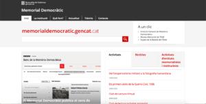 MEMORIAL DEMÒCRÀTIC DE LA GENERALITAT DE CATALUNYA
