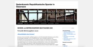 GEDENKVEREIN REPUBLIKANISCHE SPANIER IN ÖSTERREICH (GRSÖ) Asociación Conmemorativa de los Españoles Republicanos en Austria